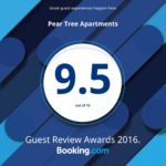 Peartree Serviced Apartments Award