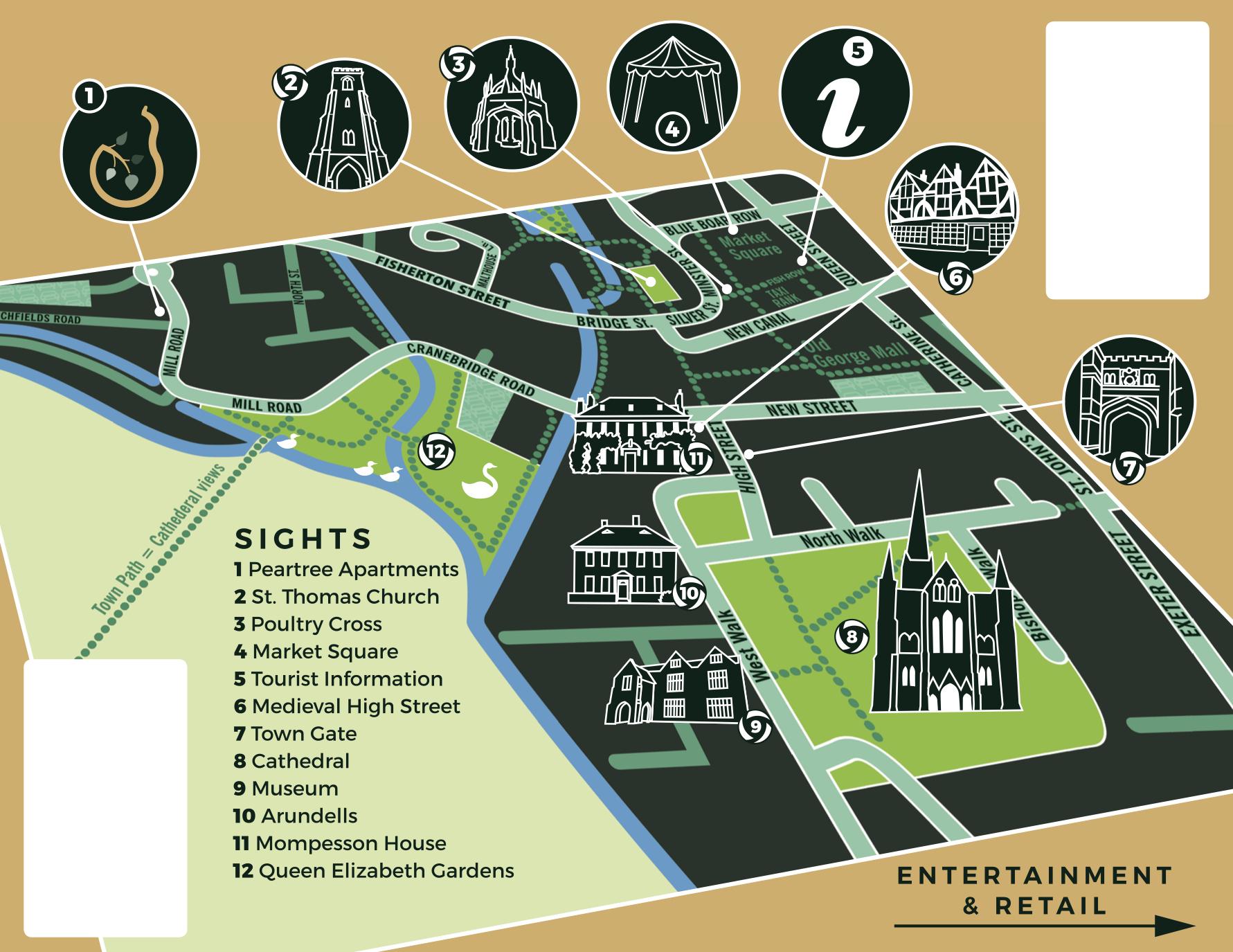 Salisbury Maps