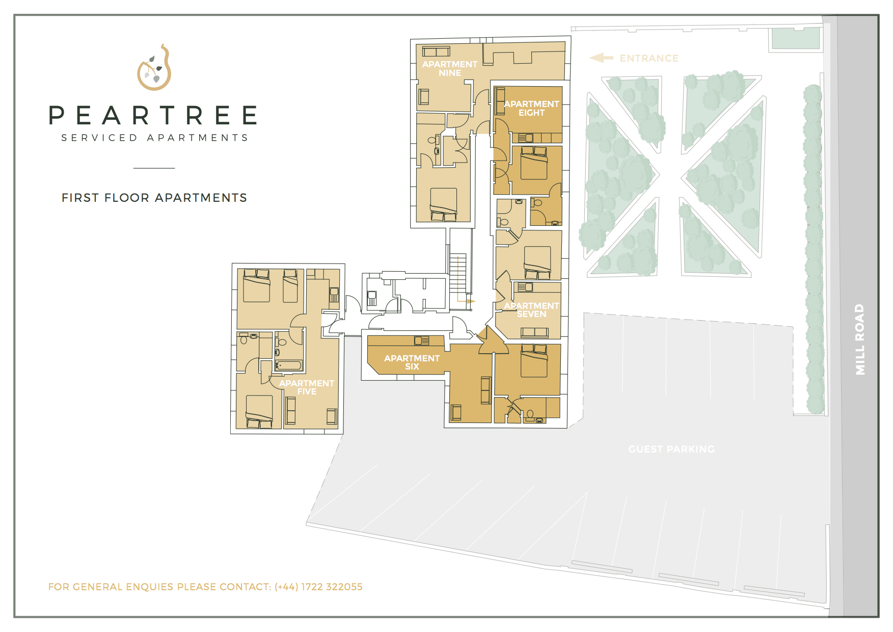 Peartree First Floor Apartments
