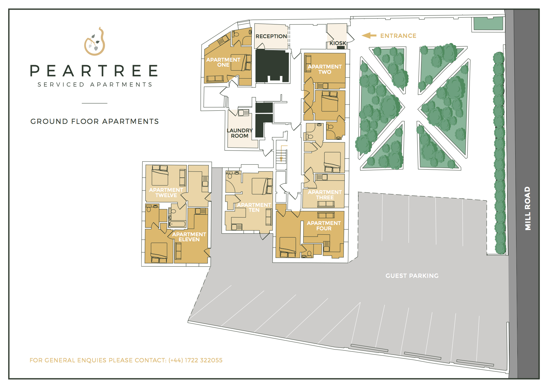 Peartree Ground Floor Apartments